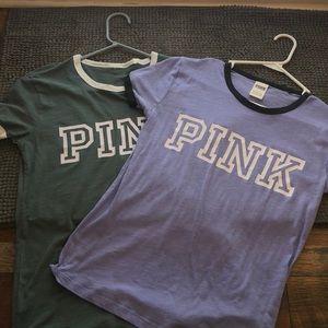 Pink t-shirt bundle (size S)